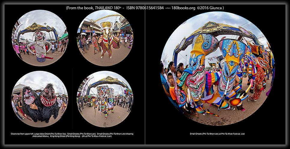 Great festivals in esan, Thailand